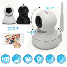720P Indoor Wireless WIFI IP Camera W/ SD Slot Network NightVision CCTV Security