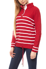 B.C. Best Connections by heine Pullover Damen Strickpullover Grobstrick Rot