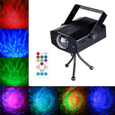LED RGB PROIETTORE LASER LUCI WATER WAVE EFFETTO RIPPLE PARTY DJ REMOTO CONTROL