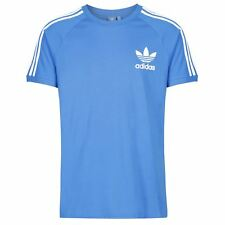 adidas ORIGINALS CALIFORNIA T SHIRT BLUEBIRD XS S M L XL XXL MEN'S CREW NECK