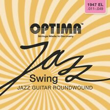 OPTIMA Jazz Swing Roundwound CROMO CORDE SET CHITARRA Strings
