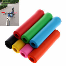 1 Pair Bike Bicycle Cycling Silicone Anti-slip Handlebar Grips For Mountain MTB