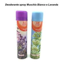 DEODORANTE SPRAY 300 ML PROFUMATORE AMBIENTE CASA LUNGA DURATA DUE FRAGRANZE