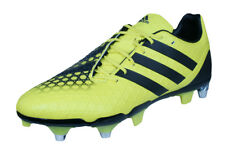 cfefbdbee adidas Predator Incurza SG Mens Rugby Boots - Yellow and Black - RRP £164.95