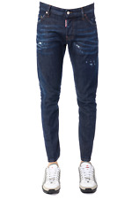 Jeans Dsquared2 Jeans % Made In Italy Uomo Denim S74LB0271-S3033-