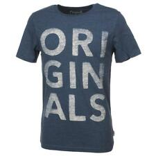 Tee shirt manches courtes Jack and jones Rinner insigniablue mctee Bleu 52032 -