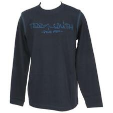 Tee shirt manches longues Teddy smith Ticlass navy ml tee jr Bleu 59397 - Neuf