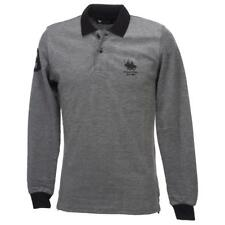 Polo manches longues Frank ferry Yann  gris polo Gris 75505 - Neuf