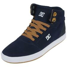 Chaussures mid mi montantes Dc shoes Crisis high navy camel Bleu 75485 - Neuf