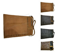Lightweight Premium Genuine Leather 13 Pockets Professional Chef Knives Bag/Roll
