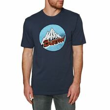 Burton T-shirts - Burton Retro Mountain T-Shirt - Mood Indigo