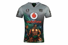 Canterbury Mens New Zealand Warriors 9s NRL 2018 Alternate Rugby Shirt Top Multi