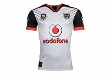 Canterbury Mens New Zealand Warriors NRL 2018 Alternate Rugby Shirt Top White