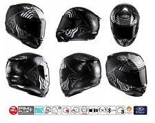 CASCO HJC RPHA 11 INTEGRALE IN CARBONIO FIBRA DI VETRO STAR WARS KYLO REN MC5SF