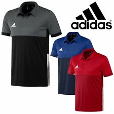 Adidas Polo Shirt Mens T16 Sports Climacool Gym Running Male CLEARANCE STOCK