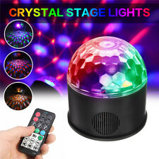 Bluetooth DJ Disco KTV Party Bar LED Crystal Ball Laser Projector Stage Light