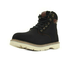 Chaussures Boots Kappa homme Marvin Black taille Noir Noire Synthétique Lacets