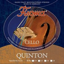 Fisoma QUINTON Violoncello Corde SET 5 taglie, Violoncello Strings SET