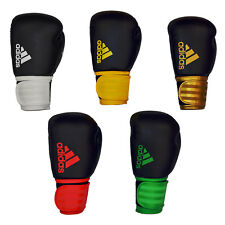 GUANTONI Adidas Hybrid 100 GUANTI KICK BOXING MUAY THAI BOXE FULL CONTACT 10oz