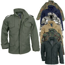 US Giacca Militare M65 con fodera S-5XL,6 colori, army parka Field Jacket giacca