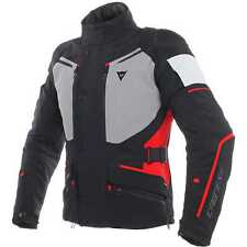 Giacca moto Dainese Carve Master 2 goretex nero rosso touring adventure jacket