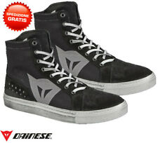 Scarpe moto scooter Dainese Street Biker wp nero grigio black gray shoes