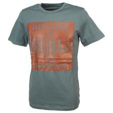Tee shirt manches courtes Jack and jones Stood stormyweather mctee Gris 52057 -