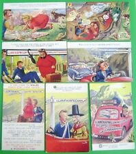 Old BAMFORTH WELSH Comic / Seaside Humour Postcards (Your Choice)