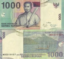 MULTI-VARIATION LISTING 13 denominations sen/rupiah banknotes of Indonesia UNC