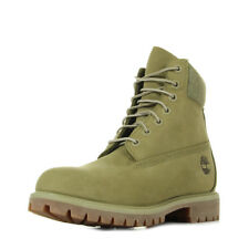 Chaussures Boots Timberland femme 6 Premium Boot taille Vert olive Verte Nubuck