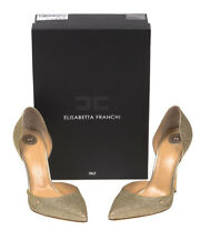 Decolletes Elisabetta Franchi Pumps -50% MADE IN ITALY Donna Oro 3202273V307-464