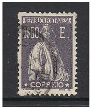 Portugal - 1923, 1E50 Slate-Purple Ceres - Glazed Paper stamp - G/U - SG 568