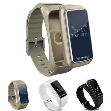 SMART WATCH BLUETOOTH CARDIOFREQUENZIMETRO CONTAPASSI FITNESS auricolari