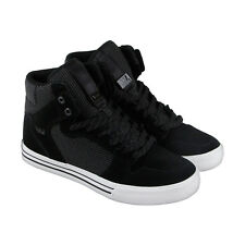 Supra Skytop V Mens Black Suede Lace Up Sneakers Shoes