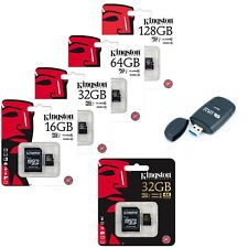 Kingston 16/32/64/128GB MicroSD TF Class 10 G2 UHS-I Flash Card + Card Reader