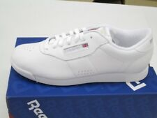 Reebok Classic Princess White Leather Sneaker Women's Shoes Fitness NEW