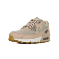 """Chaussures Baskets Nike femme Wmns Air Max 90 """"Particle Beige"""" taille Beige Cuir"""