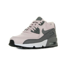 Chaussures Baskets Nike femme Air Max 90 LTR taille Rose Cuir Lacets