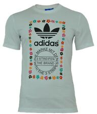 Adidas Pharrell Williams Graphic Tee uomo T-shirt camicia bianco