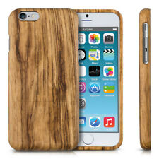 kwmobile CUSTODIA RIGIDA LEGNO PER APPLE IPHONE 6 6S VERO NATURALE COVER