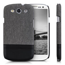 kwmobile CUSTODIA RIGIDA DI TELA COVER PER SAMSUNG GALAXY S3 S3 NEO COVER