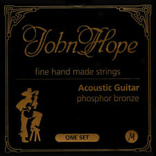 John Hope SUPER ACOUSTIQUE GUITARE WESTERN Bronze Cordes Lot Guitare STRINGS LOT