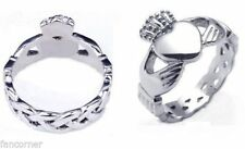 Buffy anello di claddagh in acciaio inossidabile anello di Buffy Claddagh ring