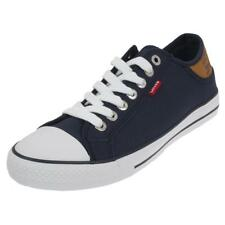 Chaussures basses toile Levis Stan buck navy toile h Bleu 76905 - Neuf