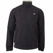 Fred Perry giacca BRENTHAM UOMO BLU SCURO CLASSICO HARRINGTON