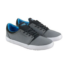 DVS Stratos Lt Soco Mens Gray Textile Lace Up Skate Shoes
