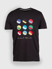 WEEKEND OFFENDER CAMISETA CIRCLES Y RAYAS XS ML CARBONO ULTRAS CASUALS