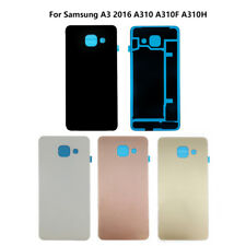 Glass Replacement Back Battery Cover Case For Samsung Galaxy A3 2016 A310 A310F
