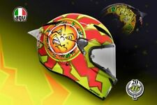 Casque de moto Agv Piste Gp R Valentino Rossi 20 years anniversy Carbone S MS ML