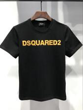 NWT Men's D2 Bronzing Letters Stamping T-shirt Short Sleeve Cotton Casual Tee